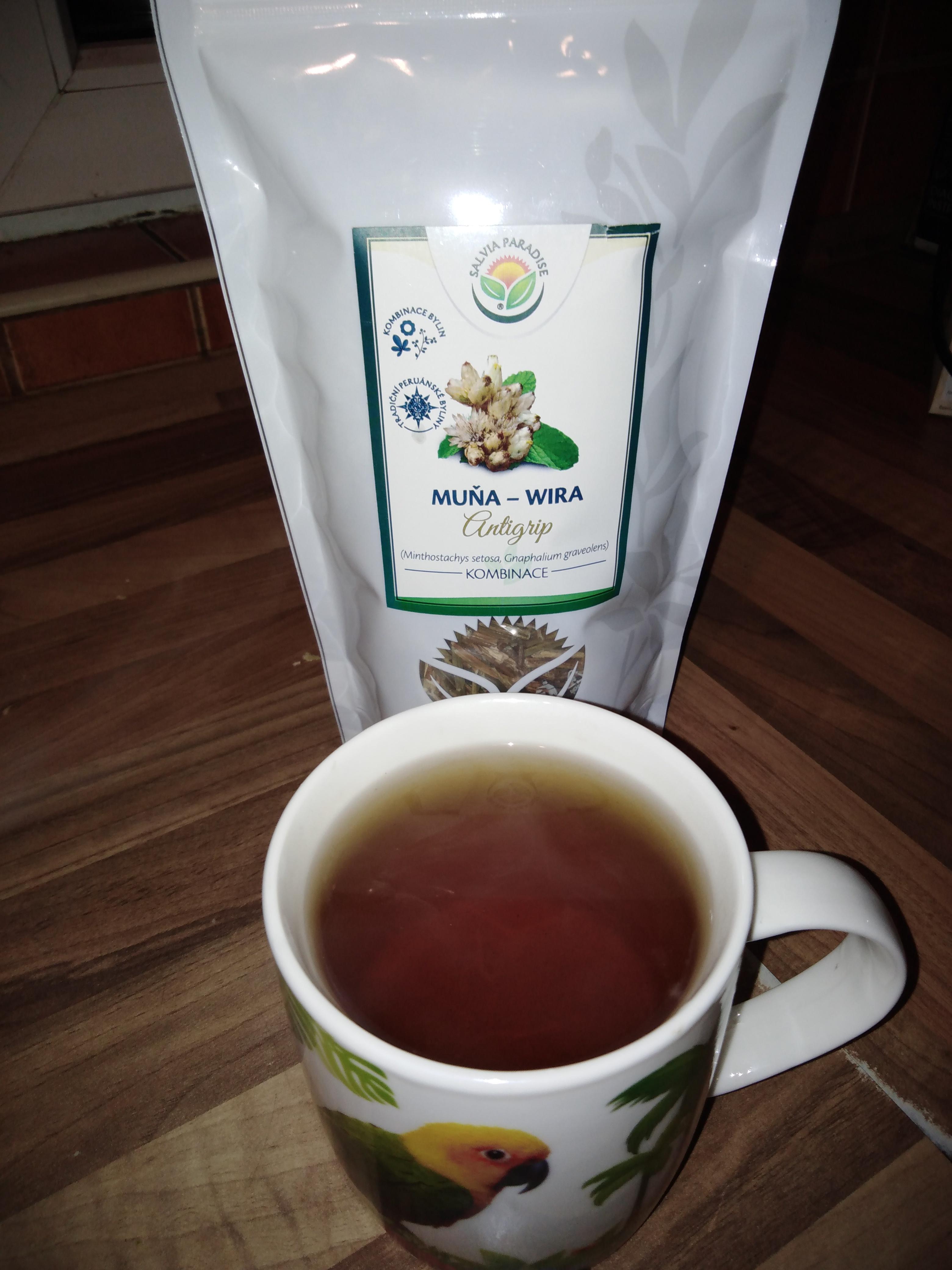 Muňa - Wira čaj
